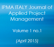 IPMA Italy Journal Volume 1 April 2015